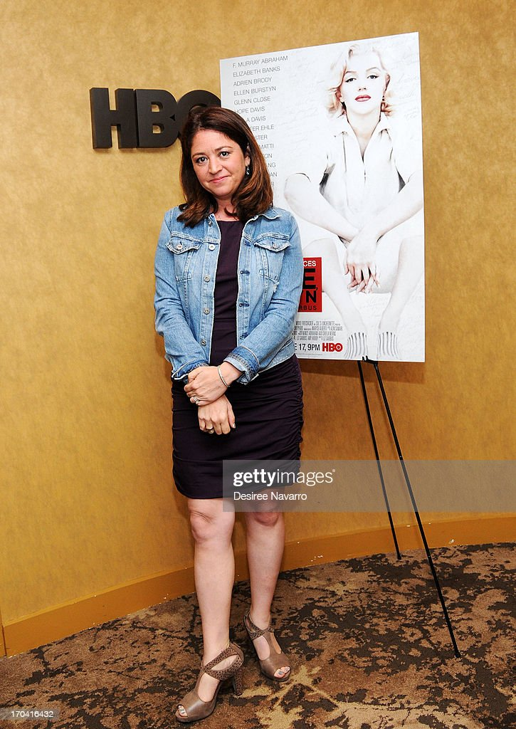 Director Liz Garbus attends HBOs Love Marilyn New York