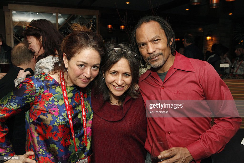 Director Liz Garbus, Senior VP HBO Documentaries Lisa Heller and Orland Garbus attend the HBO Documentary Films Sundance Party on January 20, 2013 in Park City, Utah.
