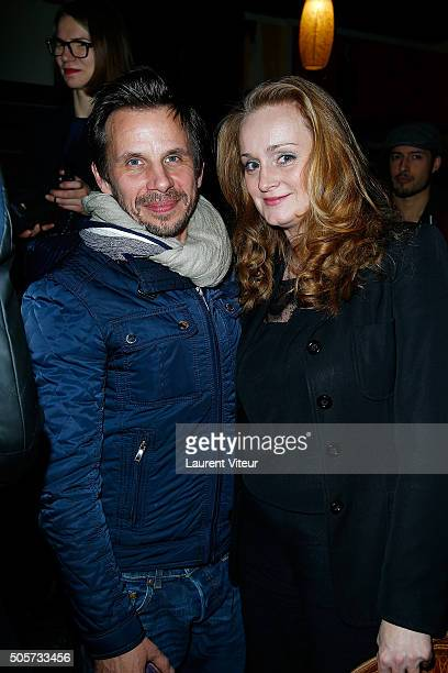 Director Loc Pottier attends Polish Hope Paris Screening At Cinema Grand Action on January 19 2016 in Paris France