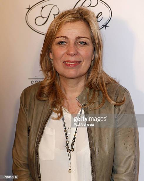 Director Lone Scherfig arrives at the 2010 Sony Pictures Classics Oscar Party at Il Cielo on March 6 2010 in Beverly Hills California