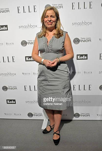 COVERAGE** Director Lone Scherfig attends the ELLE Green Room at the 25th Film Independent Spirit Awards held at Nokia Theatre LA Live on March 5...
