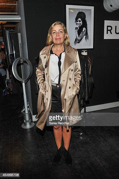Director Lone Scherfig attends the NKPR IT Lounge Portrait Studio With W Magazine on Day 4 during the 2014 Toronto International Film Festival at the...