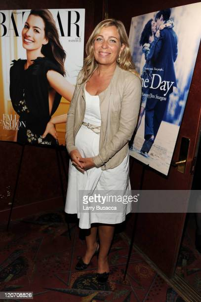"Director Lone Scherfig attends the ""One Day"" premiere after party at the Russian Tea Room on August 8, 2011 in New York City."
