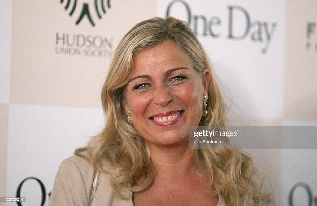 Director Lone Scherfig attends the 'One Day' premiere at the AMC Loews Lincoln Square 13 theater on August 8, 2011 in New York City.