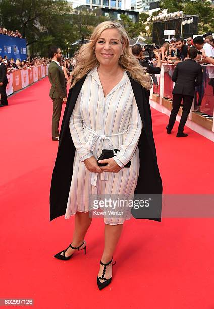 Director Lone Scherfig attends the Their Finest premiere during the 2016 Toronto International Film Festival at Roy Thomson Hall on September 11 2016...