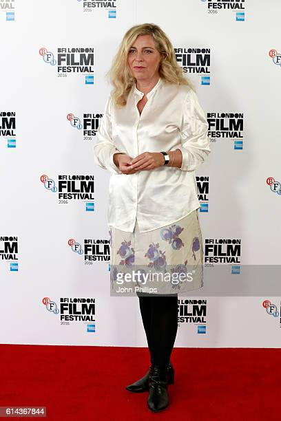 Director Lone Scherfig attends 'Their Finest' photocall during the 60th BFI London Film Festival at The Mayfair Hotel on October 13 2016 in London...