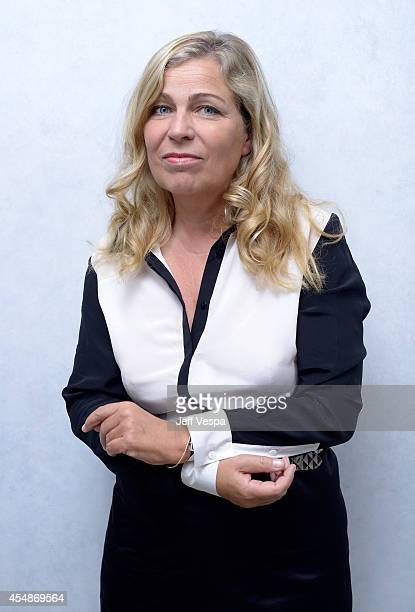 Director Lone Scherfig of The Riot Club poses for a portrait during the 2014 Toronto International Film Festival on September 7 2014 in Toronto...
