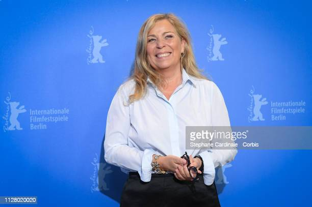 Director Lone Scherfig pose at the The Kindness Of Strangers photocall during the 69th Berlinale International Film Festival Berlin at Grand Hyatt...
