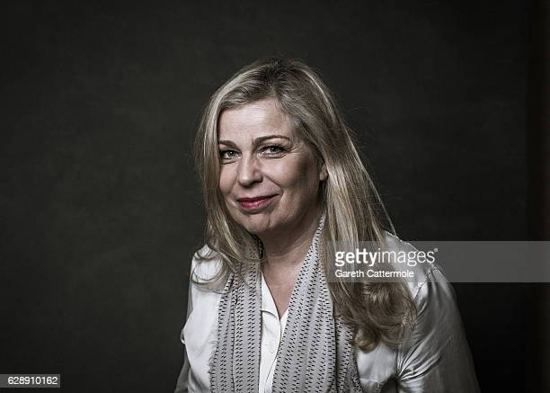 Director Lone Scherfig poses during a portrait session on day three of the 13th annual Dubai International Film Festival held at the Madinat Jumeriah...