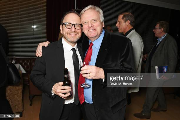 Director Lonny Price and producer Michael Grade attend the press night after party for the English National Opera's production of Rodgers...