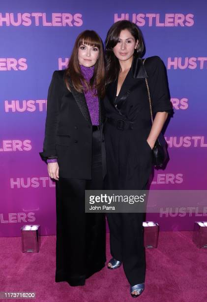 "Director Lorene Scafaria and Georgia Ximenes Lifsher at Alexander Wang STXfilms' New York Special Screening of ""Hustlers"" on September 10 2019 in New..."