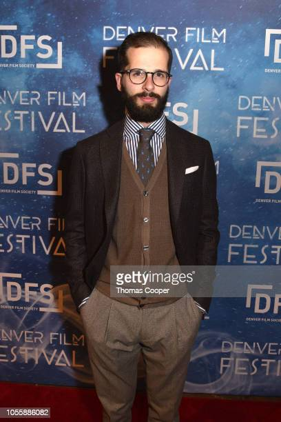 Director Lorenzo Monti of the film Breach on the red carpet for the 41st annual Denver Film Festival on October 31, 2018 in Denver, Colorado.