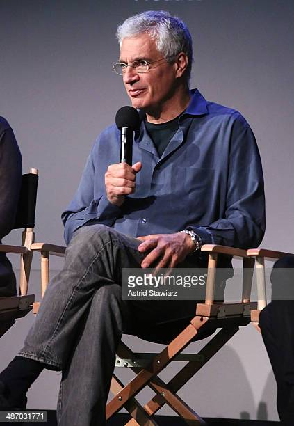 Director Louie Psihoyos attends Apple Store Soho Presents Tribeca Film Festival Louie Psihoyos Fisher Stevens And Leilani Munter 6 at Apple Store...