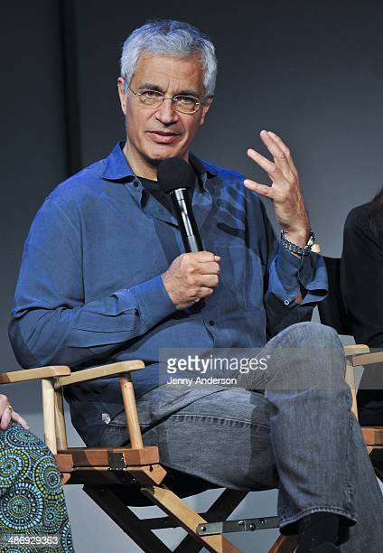 Director Louie Psihoyos discusses the environmental documentary 6 at the Apple Store Soho on April 26 2014 in New York City