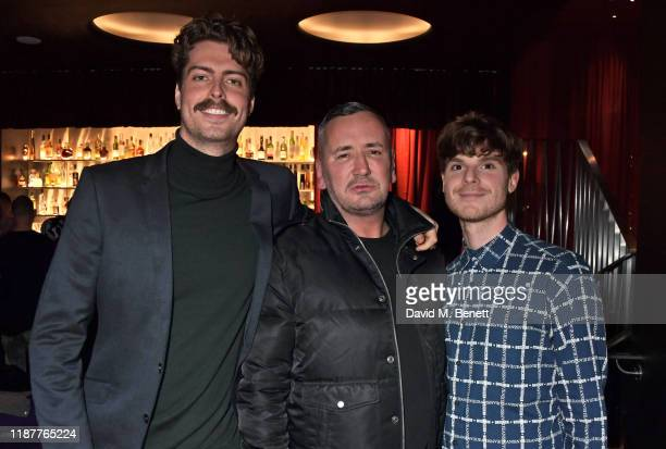 Director Louis AndersonRich DJ Fat Tony and Producer Seb Wheeler attend a special screening of Fat Tony The Most Famous DJ You've Never Heard Of at...