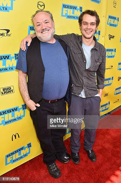 Director Louis Black and actor Ellar Coltrane attend the screening of 'Richard Linklater Dream Is Destiny' during the 2016 SXSW Music Film...