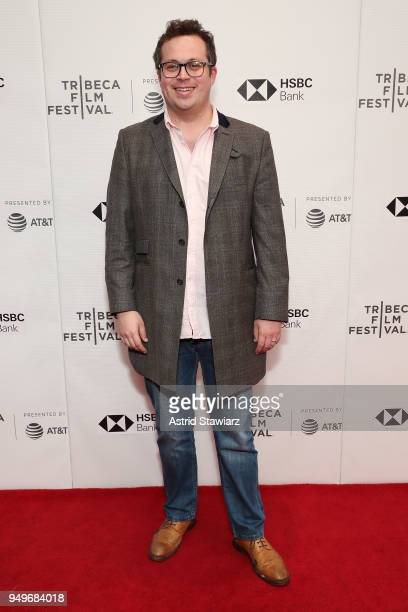 """Director Louis Myles attends a screening of """"Kaiser: The Greatest Footballer Never To Play Football"""" during the 2018 Tribeca Film Festival at..."""