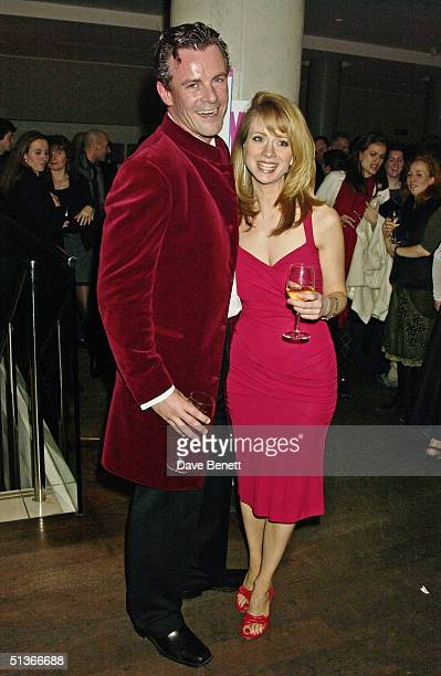 Director Loveday Ingram and producer James Tod at the 'When Harry Met Sally' first night party held at the Trafalgar Hilton bar on 22nd February 2004...