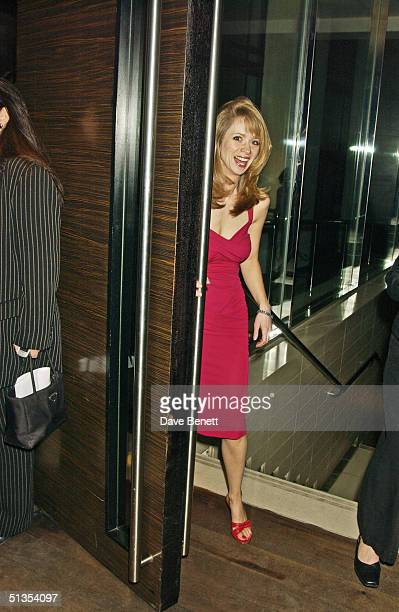 Director Loveday Ingram at the 'When Harry Met Sally' first night party held at the Trafalgar Hilton bar on 22nd February 2004 in London