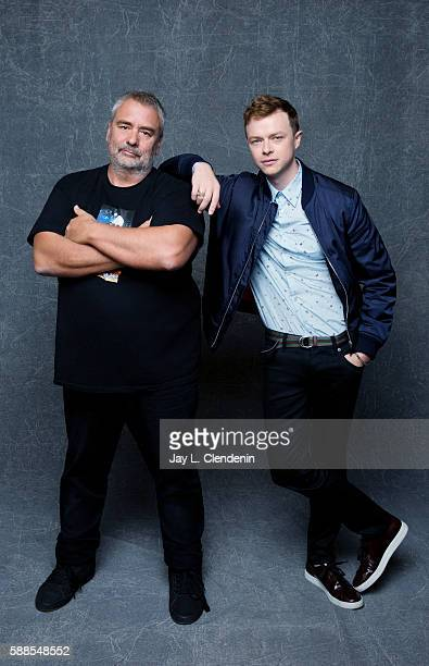 Director Luc Besson and actor Dane DeHaan of 'Valerian and the City of a Thousand Planets' are photographed for Los Angeles Times at San Diego Comic...
