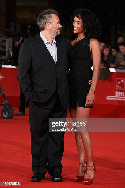 Director Luc Besson and producer Virginie Silla attend 'The Lady' Premiere and Opening Ceremony during 6th International Rome Film Festival at...