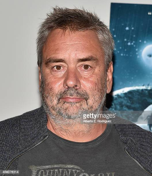 Director Luc Besson attends the Los Angeles premiere of 'Jack And The CuckooClock Heart' at the Laemmle NoHo 7 on September 24 2014 in North...