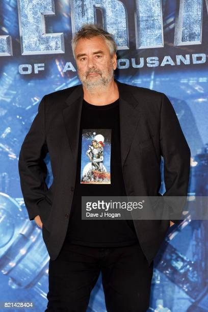 Director Luc Besson attends the photocall of Valerian and The City of a Thousand Planets at The Langham Hotel on July 24 2017 in London England