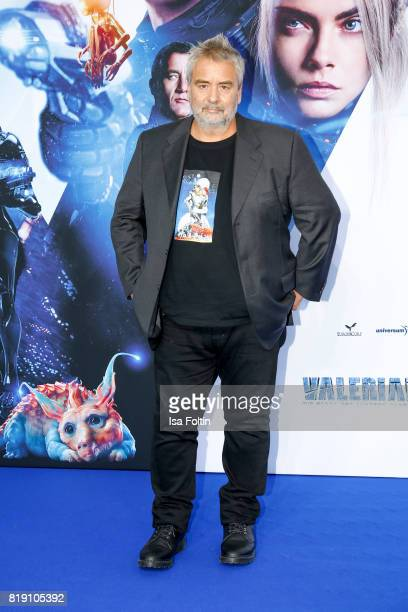 Director Luc Besson during the 'Valerian Die Stadt der Tausend Planeten' premiere at CineStar on July 19 2017 in Berlin Germany