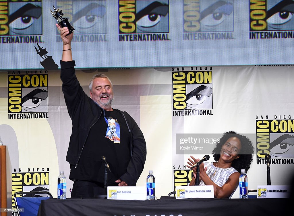 "Comic-Con International 2016 - ""Valerian And The City Of A Thousand Planets"" Panel"