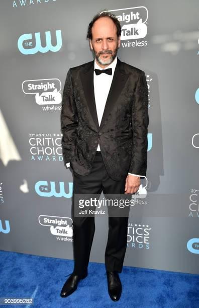 Director Luca Guadagnino attends The 23rd Annual Critics' Choice Awards at Barker Hangar on January 11 2018 in Santa Monica California