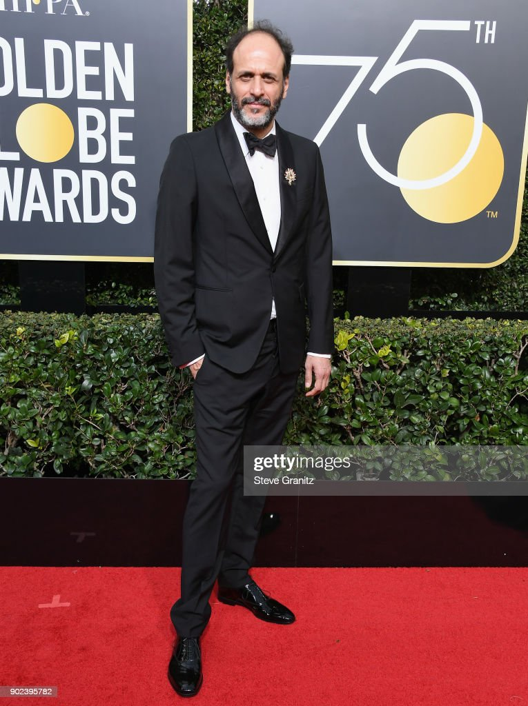 Director Luca Guadagnino attends The 75th Annual Golden Globe Awards at The Beverly Hilton Hotel on January 7, 2018 in Beverly Hills, California.