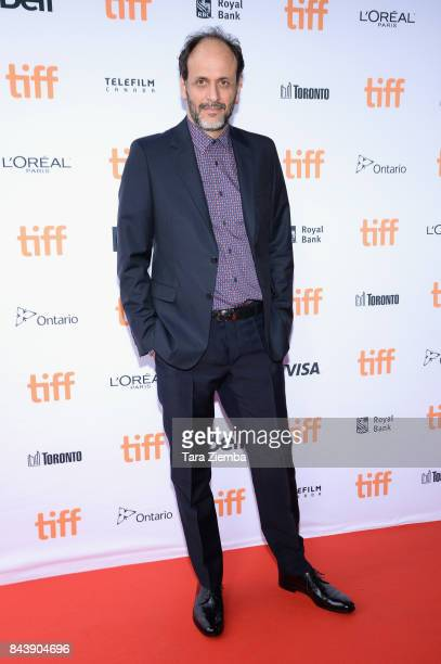 Director Luca Guadagnino attends the 'Call Me By Your Name' premiere during the 2017 Toronto International Film Festival at Ryerson Theatre on...