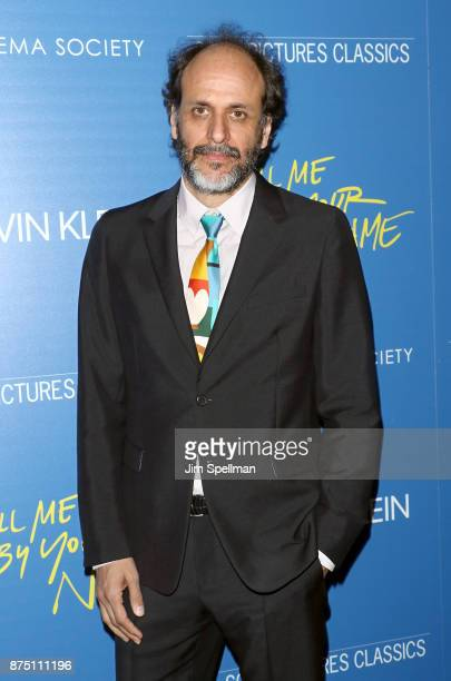Director Luca Guadagnino attends the screening of Sony Pictures Classics' 'Call Me By Your Name' hosted by Calvin Klein and The Cinema Society at...