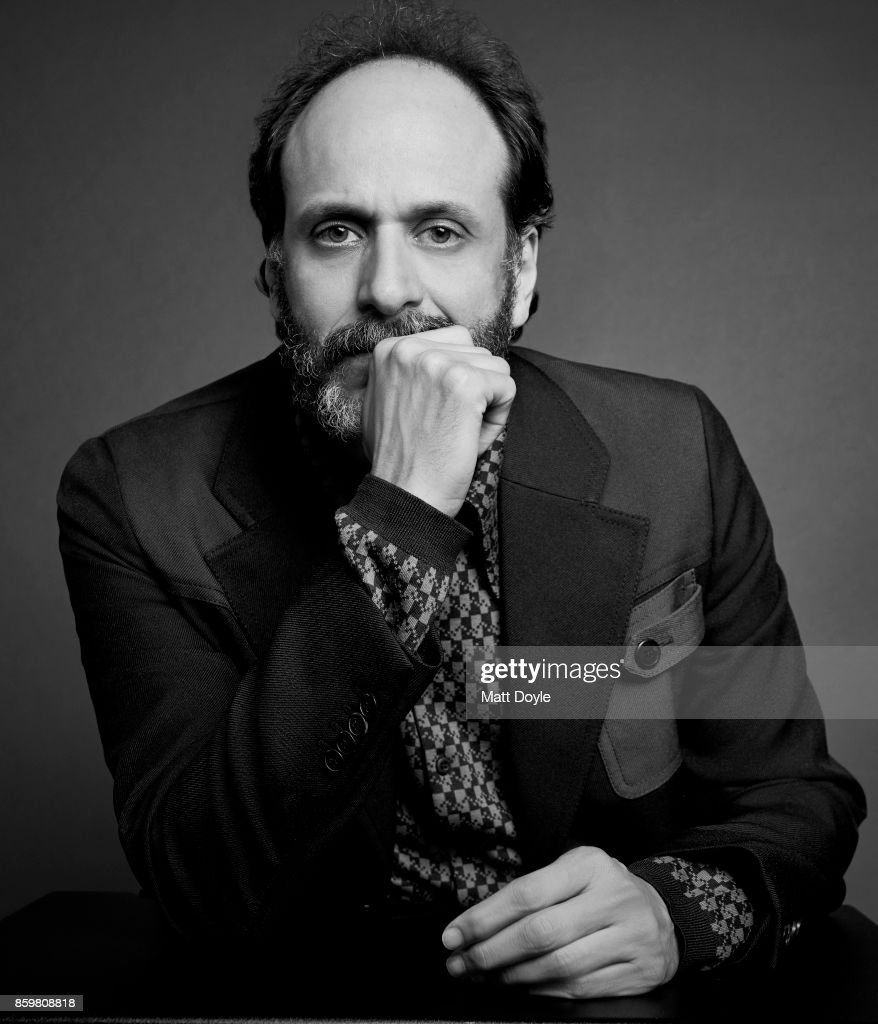 Director Luca Guadagnino of 'Call Me By Your Name' pose for a portrait at the 55th New York Film Festival on October 4, 2017.