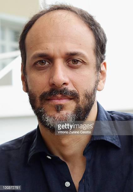 Director Luca Guadagnino poses for a portrait session during the 64th Festival del Film di Locarno on August 5 2011 in Locarno Switzerland