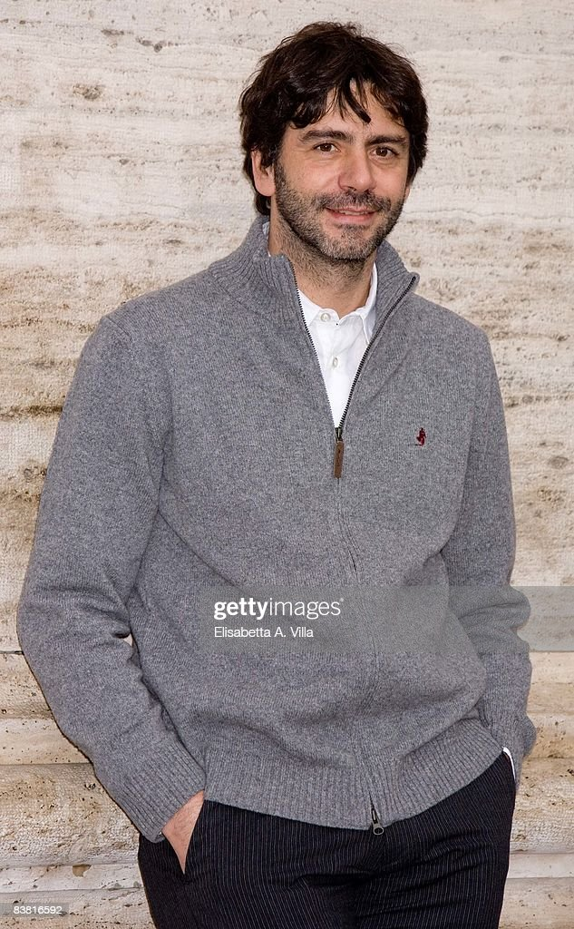 Director Luca Lucini attends 'Solo Un Padre' photocall at Warner Moderno Cinema on November 25, 2008 in Rome, Italy.