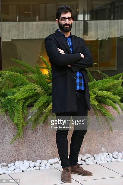 Director Luca Vecchi attends a photocall for 'THE PILLS Sempre Meglio Che Lavorare' on January 13 2016 in Rome Italy