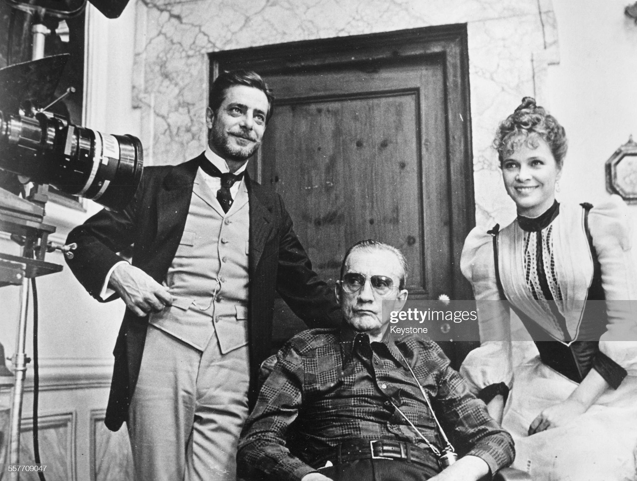 Luchino Visconti, Giancarlo Giannini And Laura Antonelli : ニュース写真