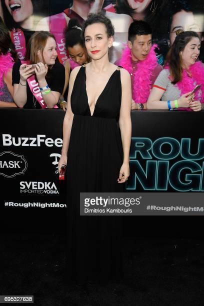 Director Lucia Aniello attends the 'Rough Night' premeire at AMC Loews Lincoln Square on June 12 2017 in New York City