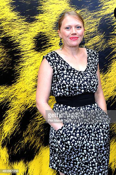 Director Lucie Borleteau attends the 'Fidelio L'Odyssee d'Alice' Photocall during the 67th Locarno Film Festival on August 9 2014 in Locarno...