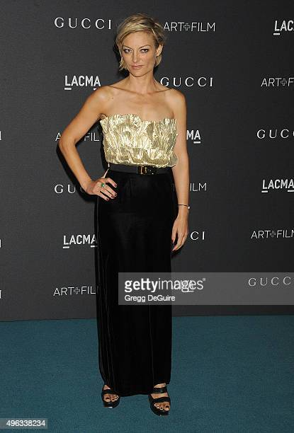Director Lucy Walker arrives at the LACMA 2015 ArtFilm Gala Honoring James Turrell And Alejandro G Inarritu Presented By Gucci at LACMA on November 7...