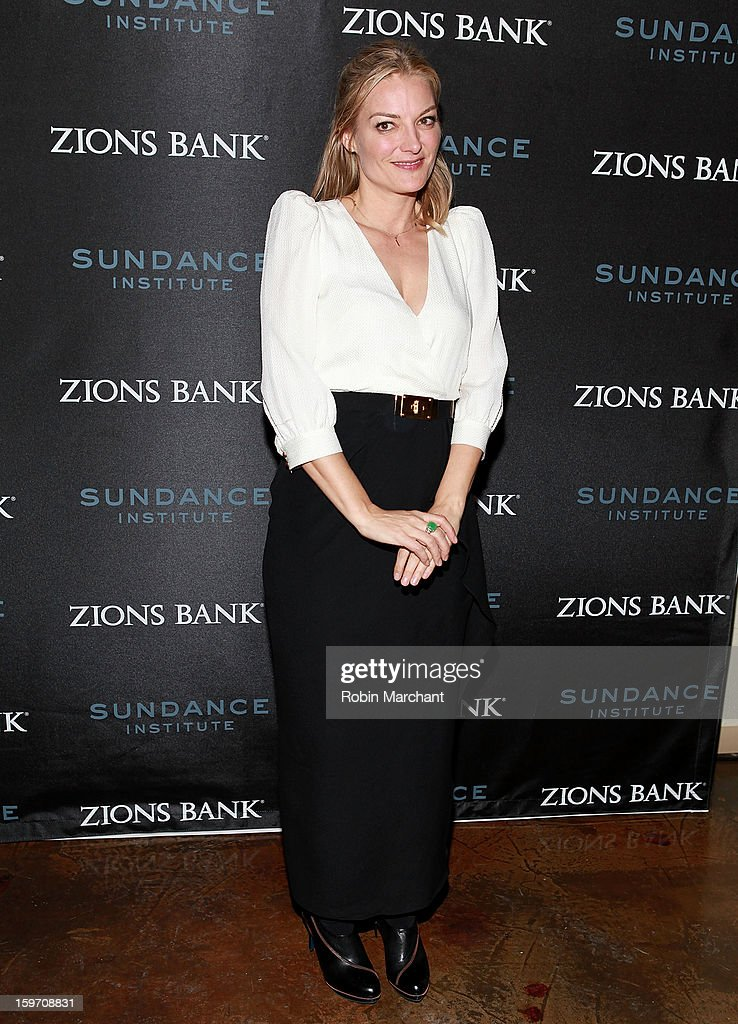 Director Lucy Walker attends SLC Gala Reception presented by Zions at Pierpont Place on January 18, 2013 in Salt Lake City, Utah.
