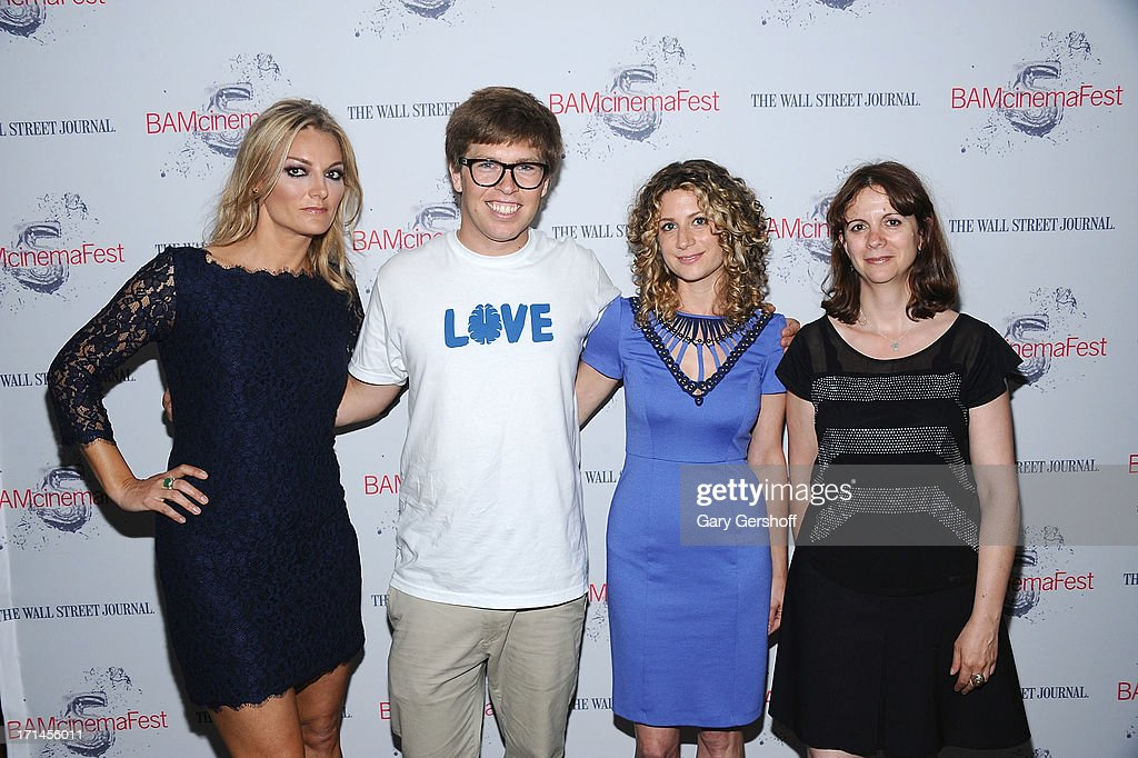 Director Lucy Walker, film subject Kevin Pearce, HBO Programming Executive Sara Bernstein and Program Director of BAMcinematek, Florence Almozini attend BAMcinemaFest New York 2013 Screening Of 'The Crash Reel' at BAM Rose Cinemas on June 24, 2013 in New York City.