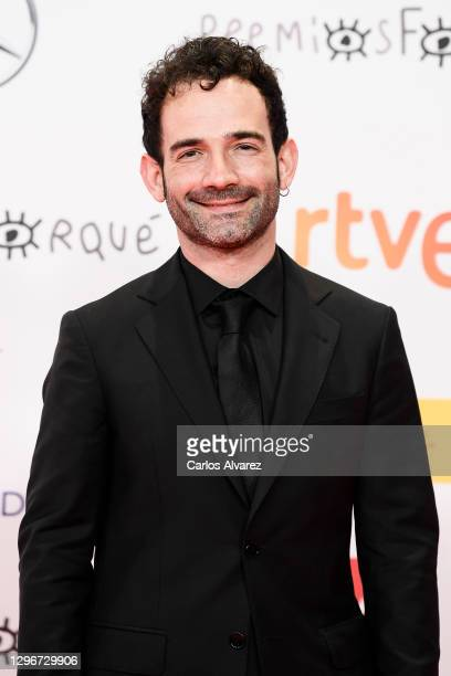 Director Luis Lopez attends 'Jose Maria Forque Awards' 2021 red carpet at IFEMA on January 16, 2021 in Madrid, Spain.