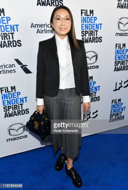 Director Lulu Wang attends the 2020 Film Independent Spirit Awards Nominees Brunch at BOA Steakhouse on January 04 2020 in West Hollywood California