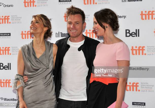 Director Lynn Shelton actor Ewan McGregor and actress Emily Blunt attend the premiere of Your Sister's Sister at Ryerson Theatre during the 2011...