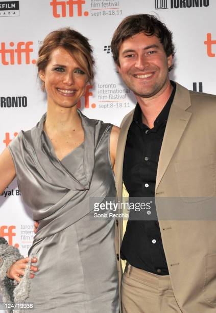 Director Lynn Shelton and actor Mark Duplass attend the premiere of Your Sister's Sister at Ryerson Theatre during the 2011 Toronto International...