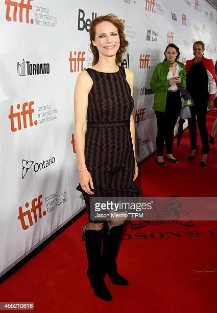 Director Lynn Shelton attends the Laggies premiere during the 2014 Toronto International Film Festival at Roy Thomson Hall on September 10 2014 in...