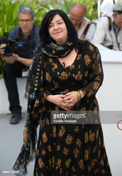 Director Lynne Ramsay attends the 'You Were Never Really Here' photocall during the 70th annual Cannes Film Festival at Palais des Festivals on May...