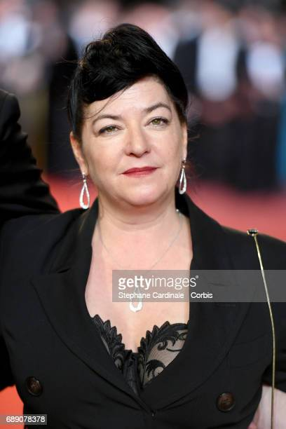 Director Lynne Ramsay attends the 'You Were Never Really Here' screening during the 70th annual Cannes Film Festival at Palais des Festivals on May...